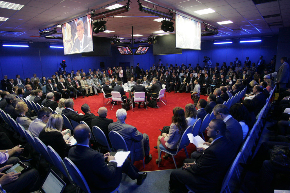 G20 Foundation @ St. Petersburg International Economic Forum 2012